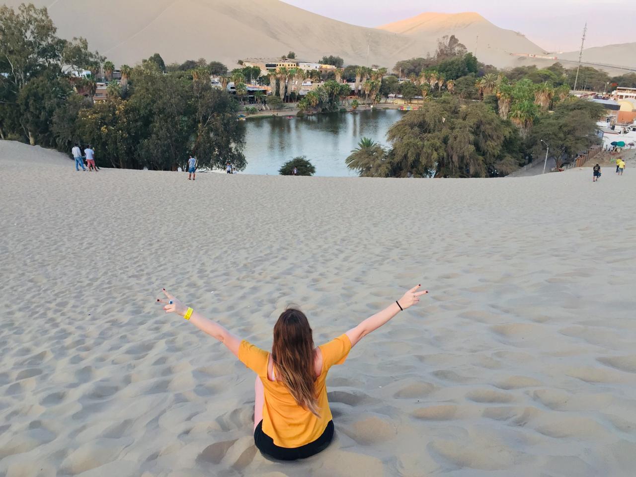 Conociendo Huacachina, un Oasis en el desierto